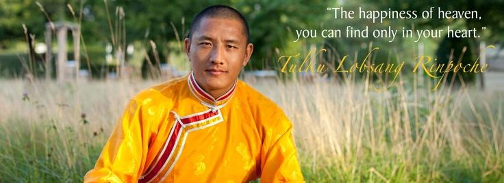 Tulku Lobsang Rinpochee is mijn (Tibetaans) Boeddhistische leraar