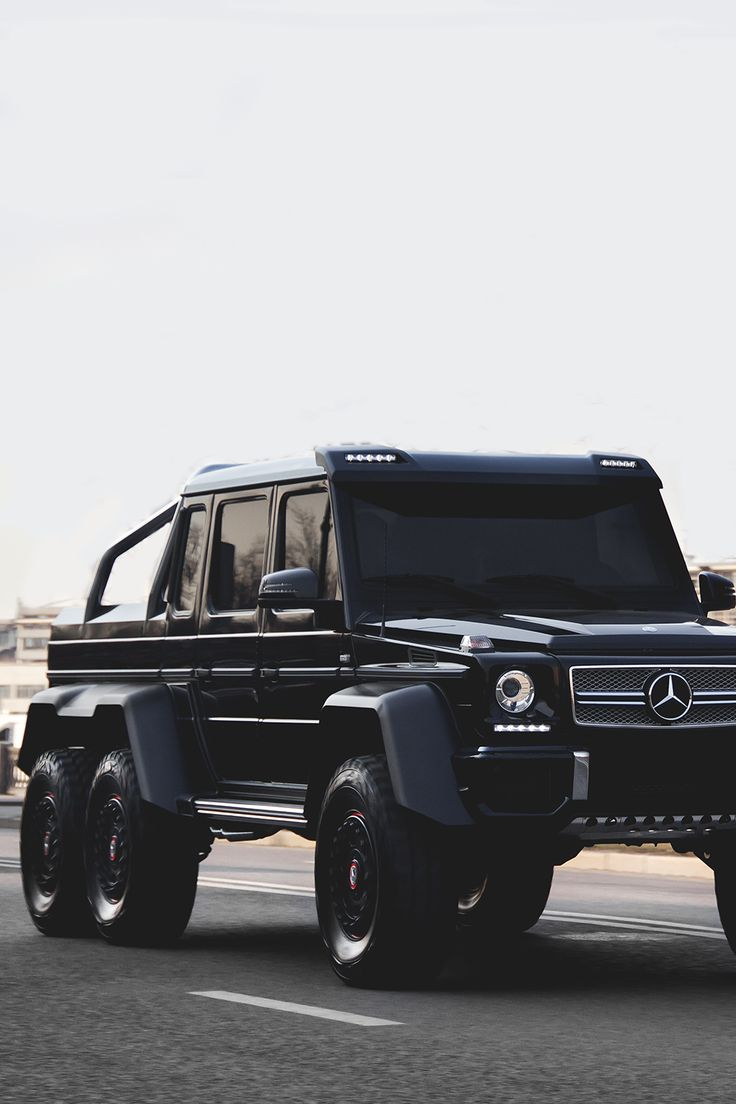 "atlasofvanity: ""Mercedes-Benz G63 AMG 6x6 