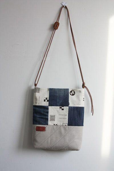 DIY Denim Bag Tutorial ~