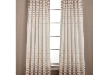 6 Top Side Window Curtain Panels
