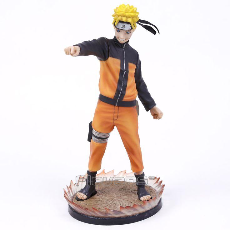 Anime GECCO Naruto Shippuden Uzumaki Naruto 1/6 Scale PVC Action Figure Collectible Model Toy 26cm Boxed #Affiliate