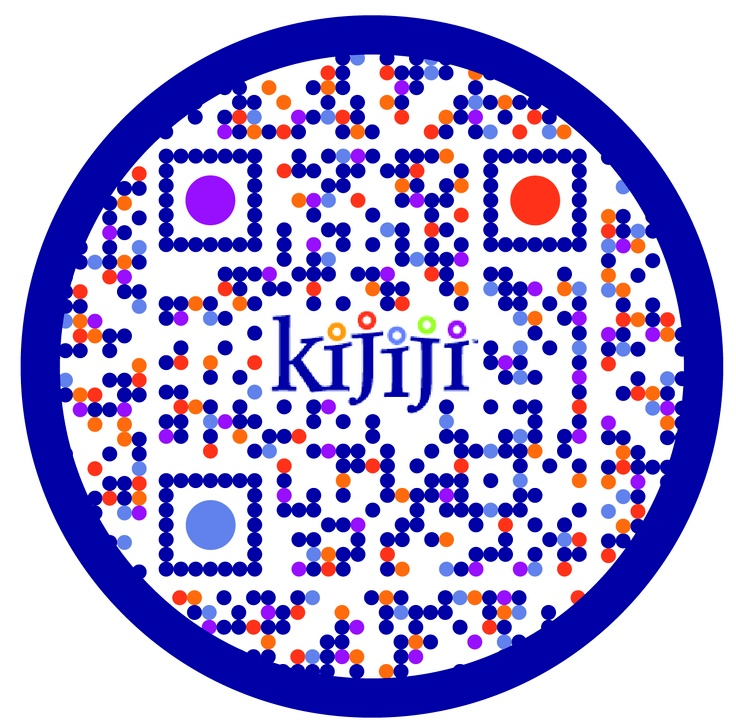 Check out this #SuperCool custom designed QR Code for Kijiji by The www.RentSeeker.ca Team