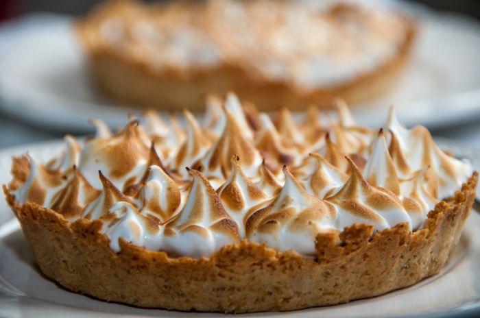 Idée dessert la tarte au citron meringuée