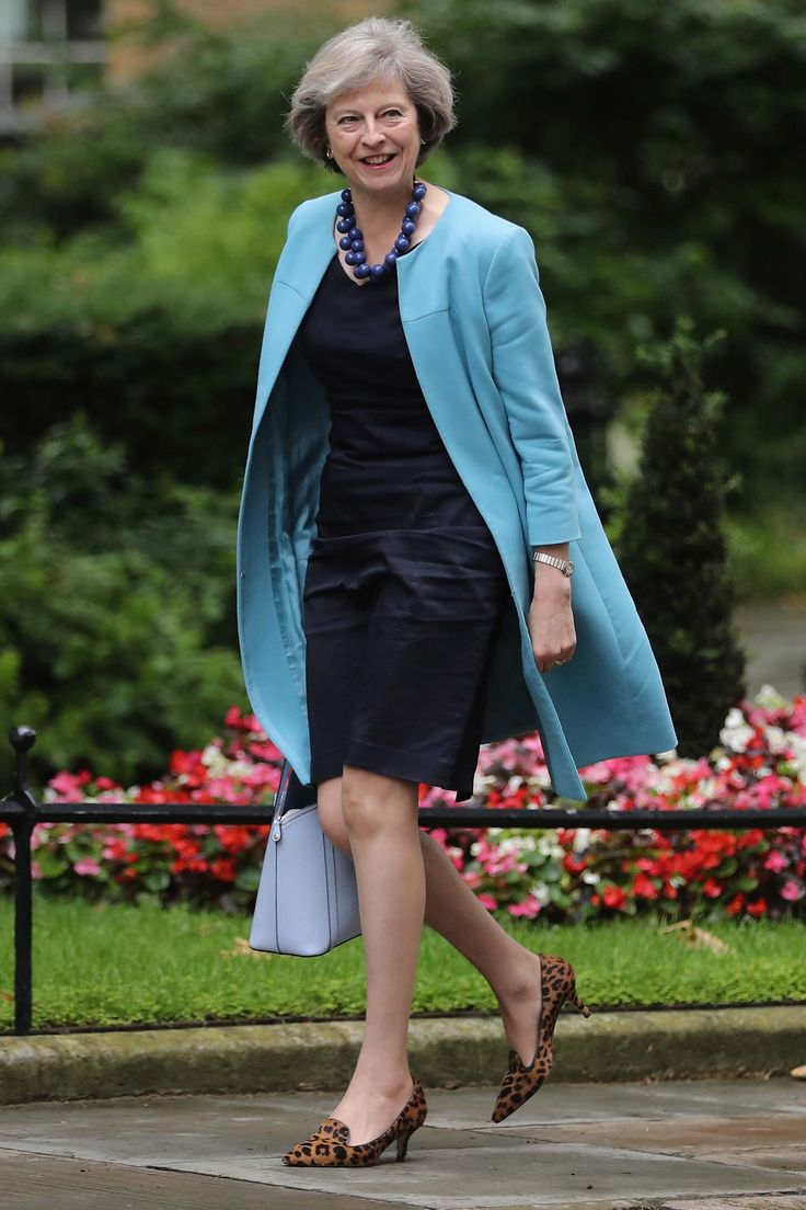 Theresa May, Prime Minister of Britain, In 2016