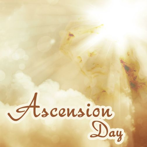 Happy Ascension Day brothers and sisters! May God's grace and mercy be with us all! #AscensionDay