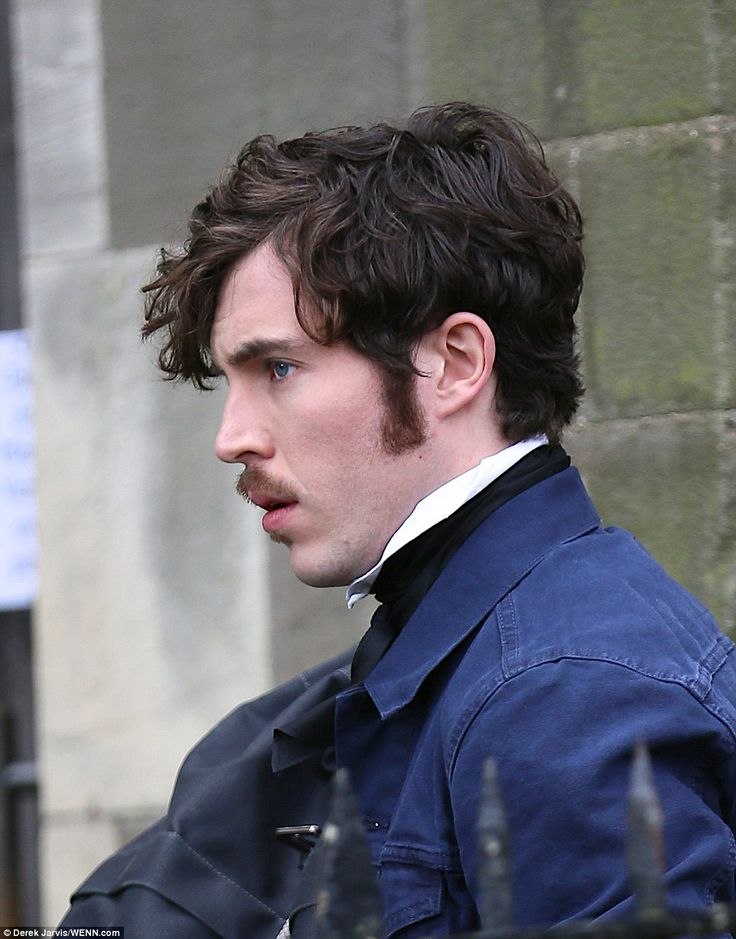 Rugged good looks: Tom Hughes is reprising his role asQueen's consort, Prince Albert...