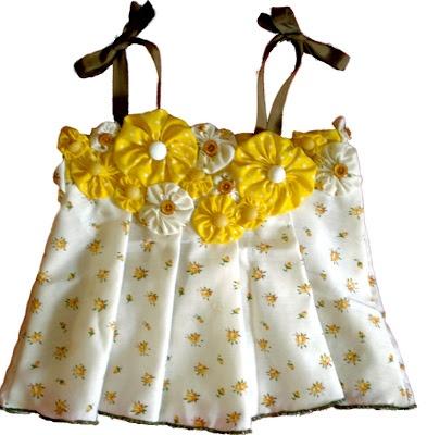Grosgrain Vintage Curtain Cami Little Girl Fashion