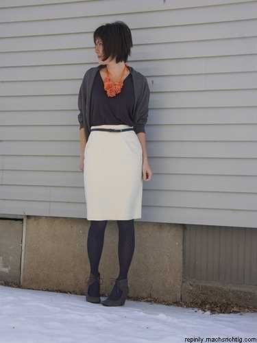 17 Best images about My Style on Pinterest   Red flats Lace pencil skirts and Skirts