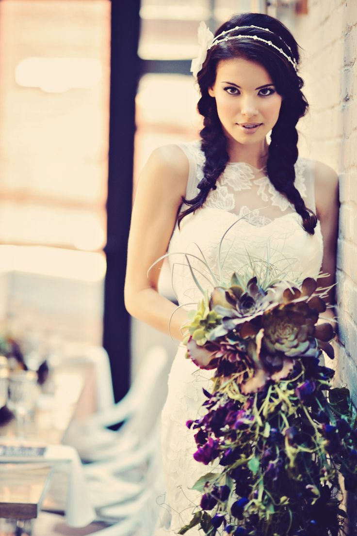 Incredible Urban Chic Wedding Inspiration from CountdDownEvents.com on Style Me Pretty. Floral Design: GIF | Photography: Tamiz Photography. See more here: http://www.StyleMePretty.com/canada-weddings/2014/03/05/urban-inspired-wedding-inspiration-in-vancouver/