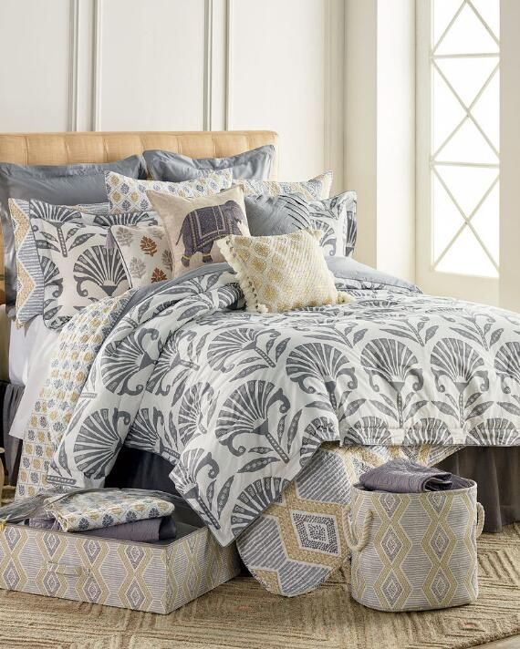 Grey Comforter Sets, Nina Campbell Bedding