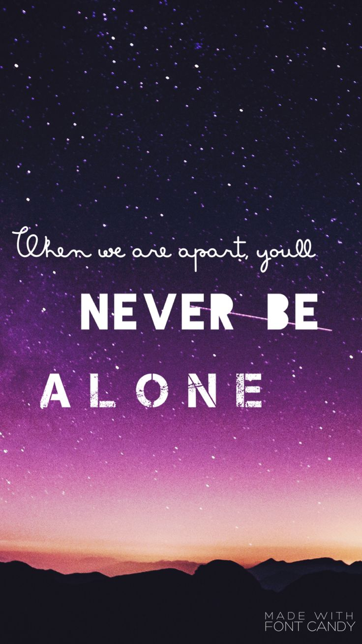 I haven't done a set in a while so here's a purple one with lyrics from never be alone  (this is the lock screen btw)