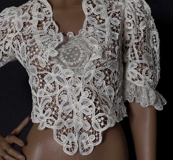 Looks like Battenberg lace.