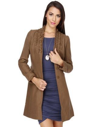 Darling Abbie Brown Coat
