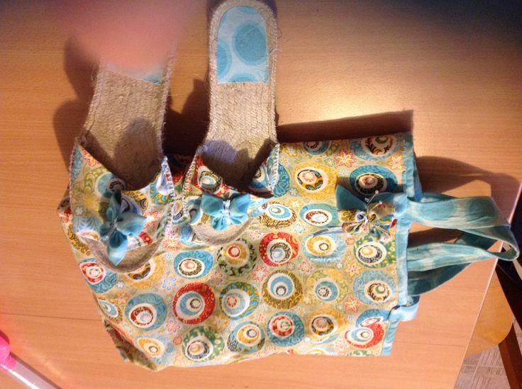 Twin set: coordinato borsa e ciabattine da spiaggia