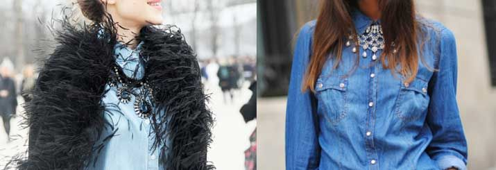 Discover How to combine denim shirt Like Pro! All woman Should Know it!