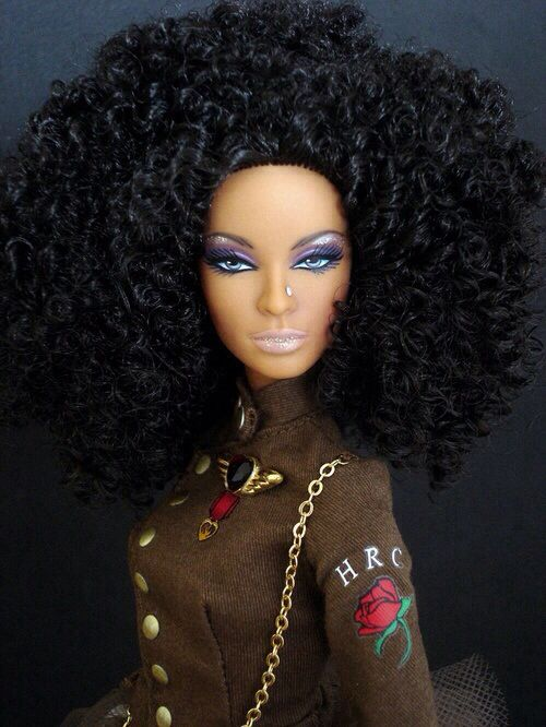 154 Best Images About Black Barbie With Natural Hair On