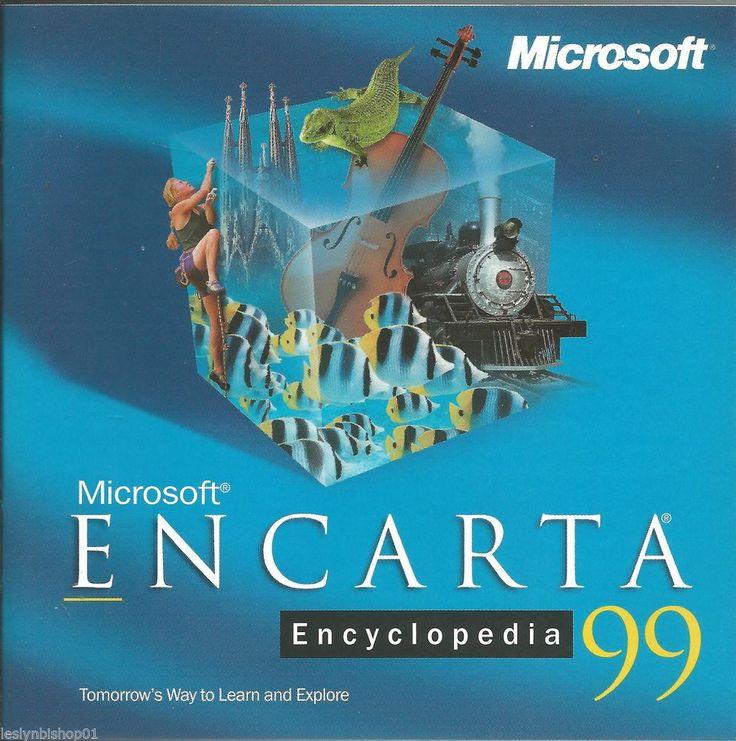 Mejores 20 imgenes de microsoft encarta en pinterest microsoft encarta encylopedia 99 pc cd software x03 93757 gumiabroncs Choice Image