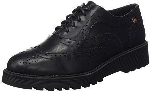 Oferta: 46.95€ Dto: -40%. Comprar Ofertas de XTI Sra Metalizado, Zapatos de Cordones Oxford para Mujer, Negro (Negro), 41 EU barato. ¡Mira las ofertas!