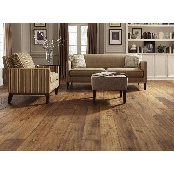 Affordable Wide Plank Fake Wood Flooring ❤ liked on Polyvore featuring home, home improvement and flooring