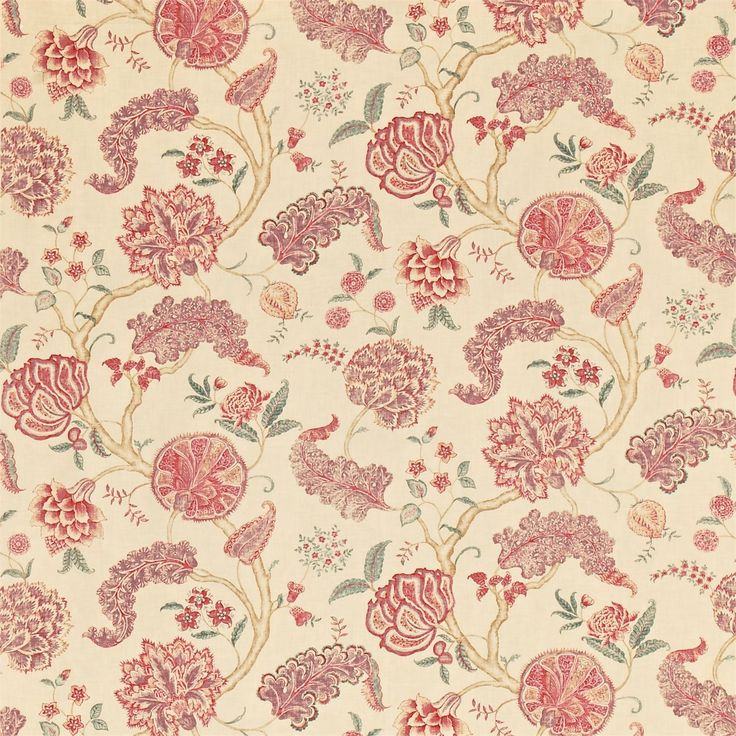 Sanderson - Traditional to contemporary, high quality designer fabrics and wallpapers | Products | British/UK Fabric and Wallpapers | Palampore (DCAVPA202) | Caverley Prints