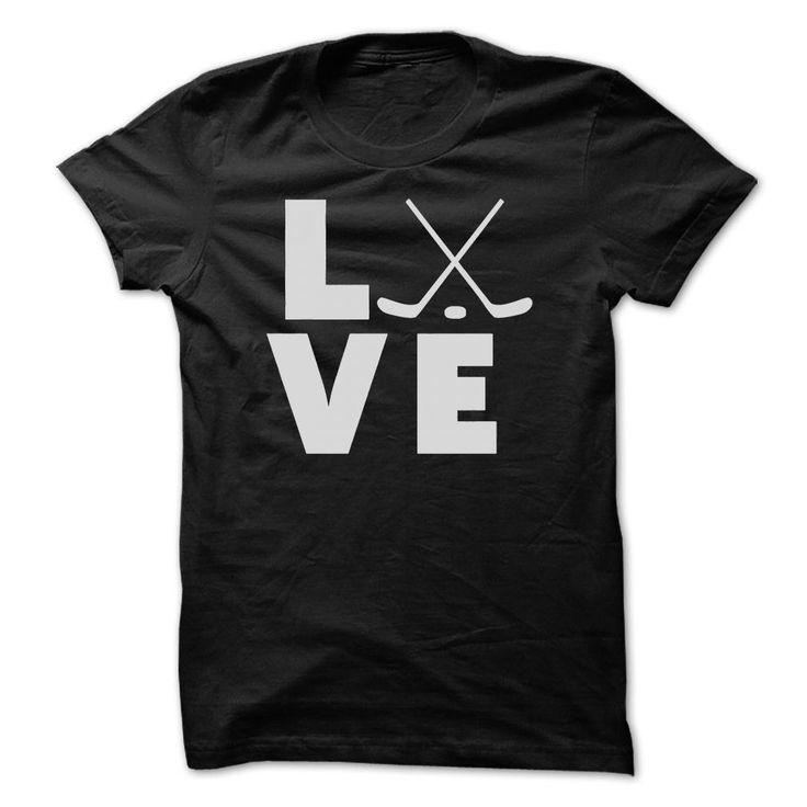 love hockey t shirts and hoodies