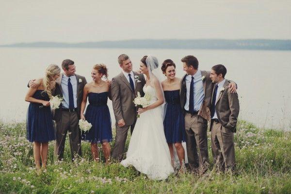 Classic Waterfront Wedding