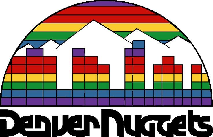 Denver nuggets, Denver and Logos on Pinterest