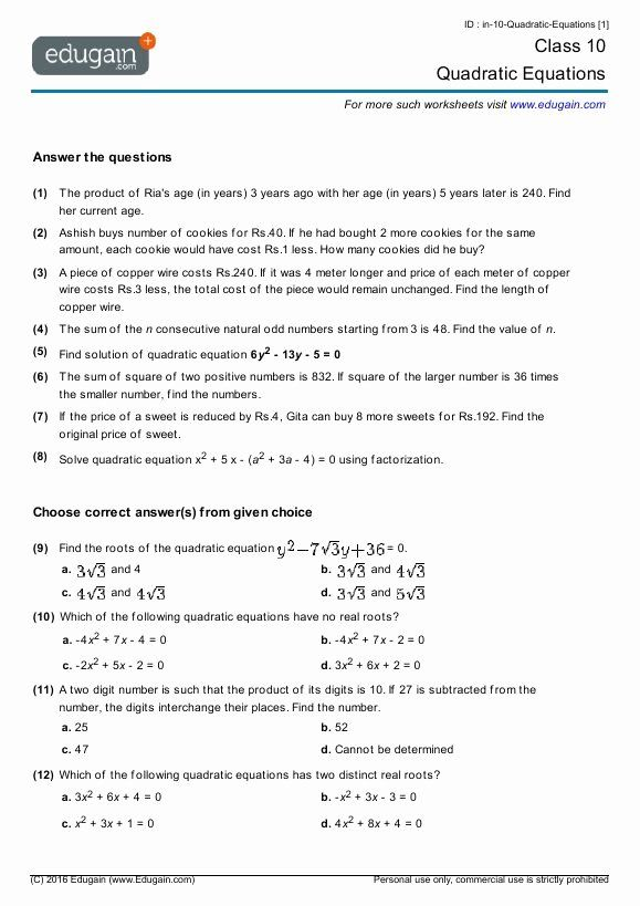 Density Practice Problems Middle School Fresh Quadratic Equations Word Problems With Solutions Pdf Di 2021 Grade math test worksheets pdf