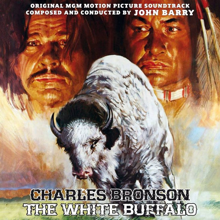 The white earthquake is here! THE WHITE BUFFALO: 40th Anniversary Edition Music Composed and Conducted by JOHN BARRY Includes the Unused Score Composed by DAVID SHIRE http://www.quartetrecords.com/the-white-buffalo.html