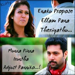 Image result for tamil movie quotes love propose