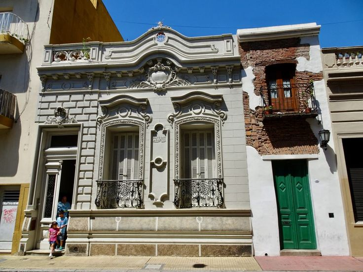 Interesting architecture in Buenos Aires