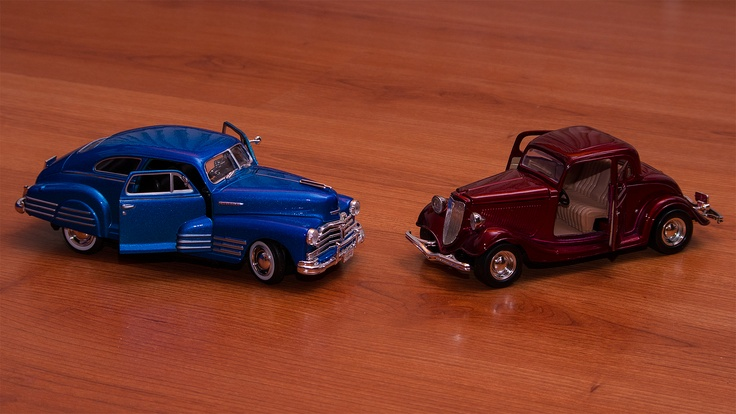 There was a time cars were beautiful. Now they're just toys..