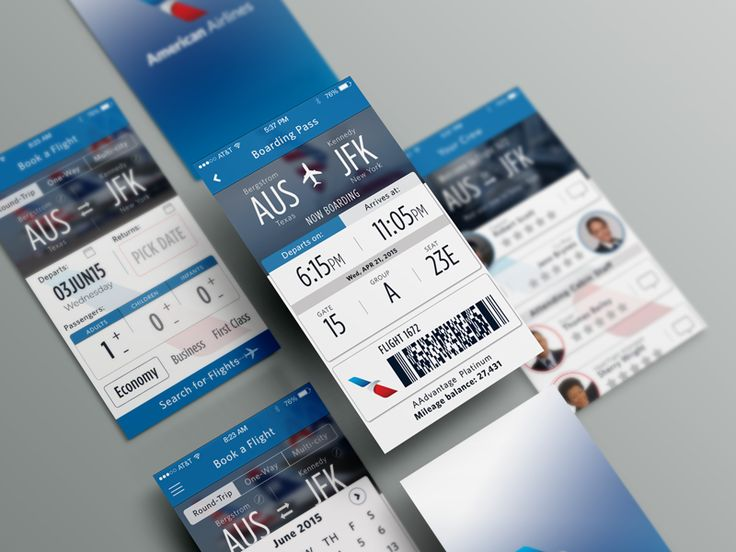 American Airlines App - Concept Redesign