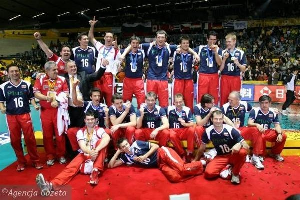 2006, Poland won a silver medal on World Championships in Japan, photo: gazeta.pl #volleyball