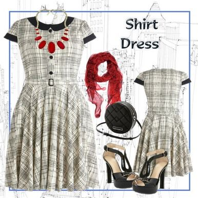 Click here to purchase this dress  - Summer Plaid Retro Style Flared Shirt Dress - Plus Size 20 and 22  - City Style Chic - http://www.citystylechic.com.au/new-arrivalssummer-plaid-retro-style-flared-shit-dress  $49.50  (free standard shipping within Australia)
