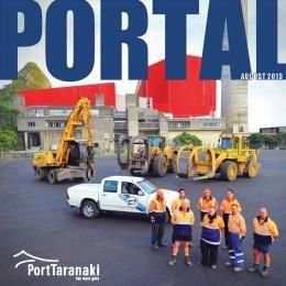 Aug 2013 Publications | Port Taranaki