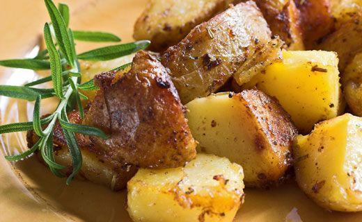 Pommes de terre grecques rôties au four Épicure
