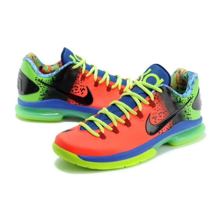 kd shoes image | Nike Zoom Kevin Durant\u0027s KD V Elite Low Basketball shoes  Orange/