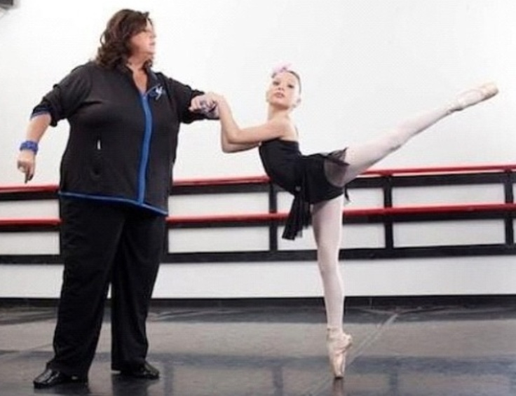 Abby Lee Miller and Madison 'Maddie' Ziegler of Dance Moms