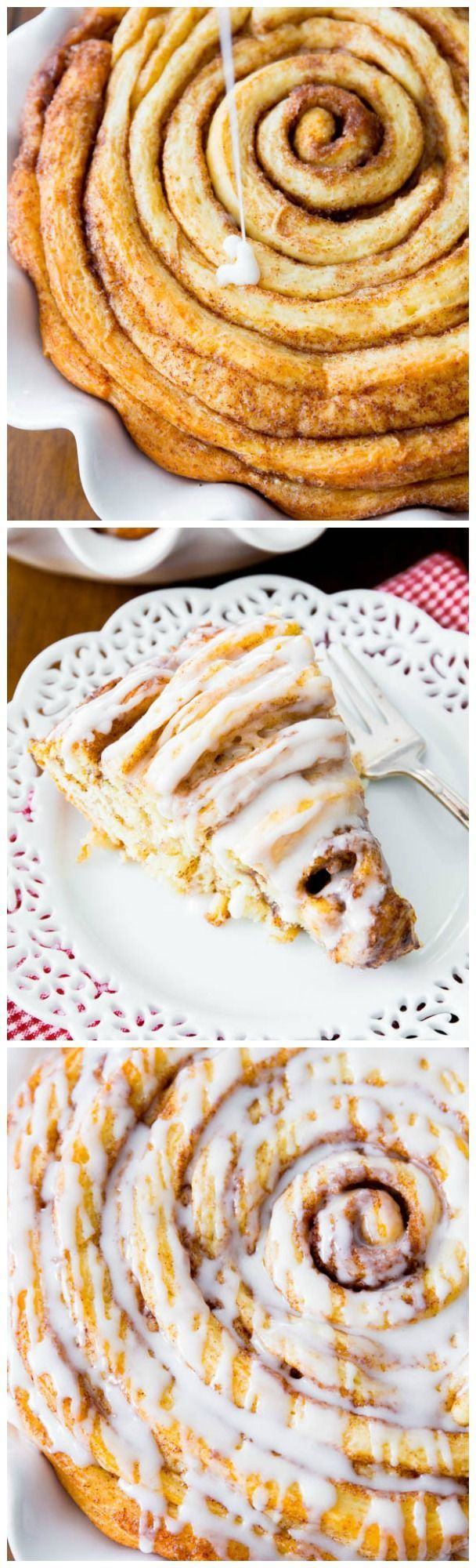 Learn how to make a beautiful, fluffy, and soft cinnamon roll cake using this kitchen-tested dough recipe! I love this site http://porkrecipe.org/posts/Learn-how-to-make-a-beautiful-fluffy-and-49236