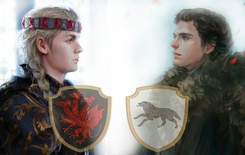 ~~The Young Dragon, King Daeron I Targaryen & the Young Wolf, King Robb Stark~~