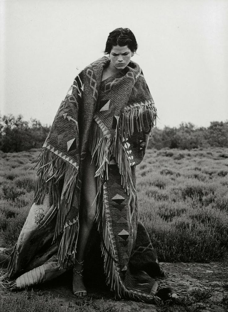 """""""Bohemian Couture"""" - September 1998 Italian Vogue shoot by Peter Lindbergh"""