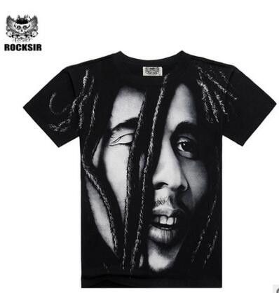High Quality M-XXXL New Fashion Cotton Brand T shirt Men 3D Tshirt Clothes Skull Men's Causul T-shirts Camisetas Masculinas