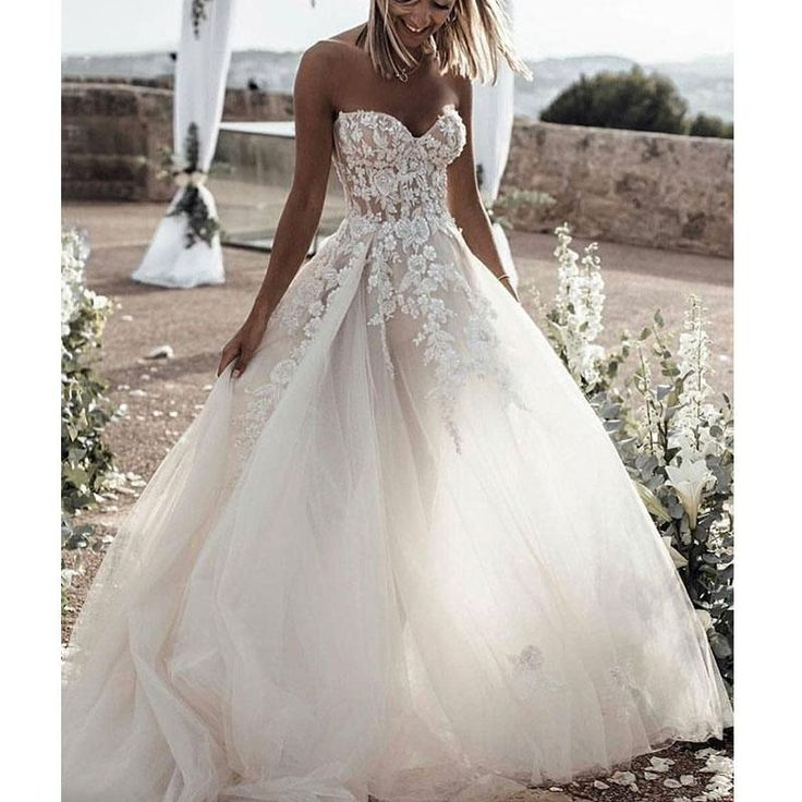 Sweetheart Lace Tulle Wedding Dresses, Romantic Wedding Bridal Gown,Wedding Dresses, WD0261 Sweetheart Lace Tulle Wedding Dresses, Romantic Wedding Bridal Gown,Wedding Dresses, WD0261