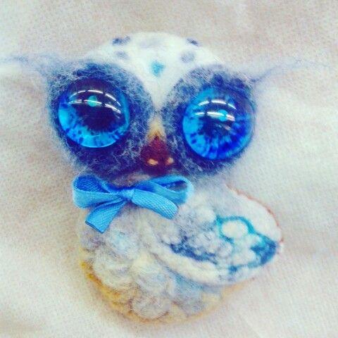 #фелтинг#арт#felt#brooch#cова#совушка#совы#owl#валяние#art#handmade