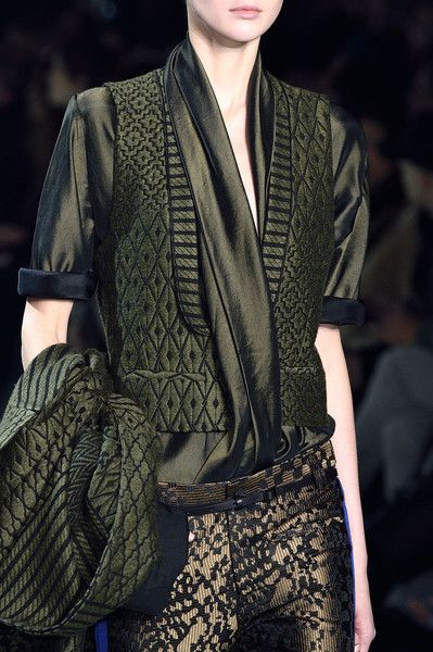 Haider Ackermann at Paris Fall 2016 (Details)