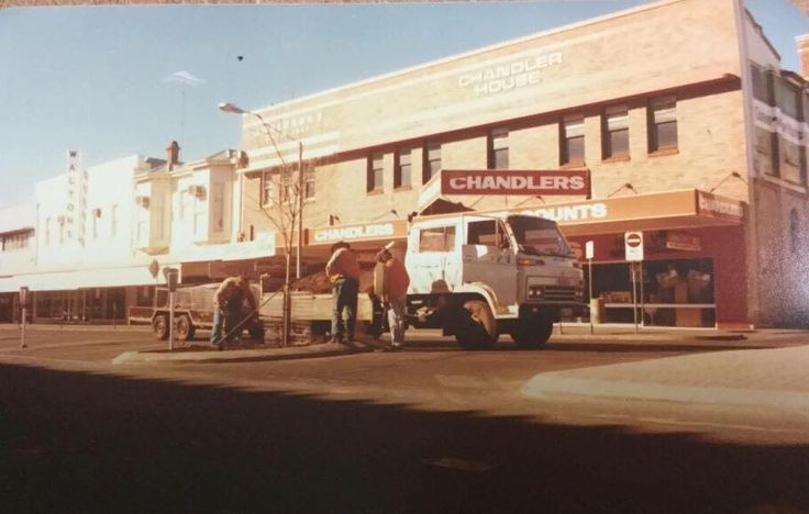 Toowoomba's Chandlers store. Ruthven St. CDs records , and commodore 64 Games , I remember the tall very well spoken middle aged guy with a moustache, he was a great guy to buy stuff off. In 86-87'. Closed in 1997.