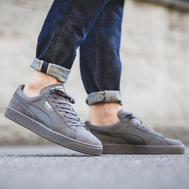 NEW IN! Puma Suede Classic Mono Reptil - Steel Gray/Puma Silver  available now in-store and online @titoloshop Berne | Zurich