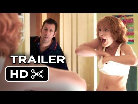 ▶ Blended Official Trailer #1 (2014) - Adam Sandler, Drew Barrymore Comedy HD - After a bad blind date, a man and woman find themselves stuck together at a resort for families, where their attractions grows as their respective kids benefit from the burgeoning relationship.