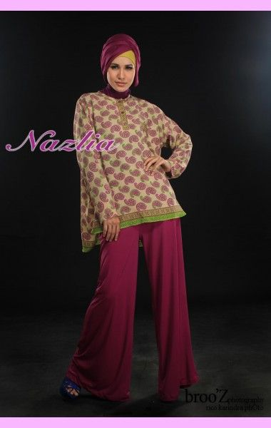 Azia - Butik Baju Muslim Online ~ Nazlia.Com